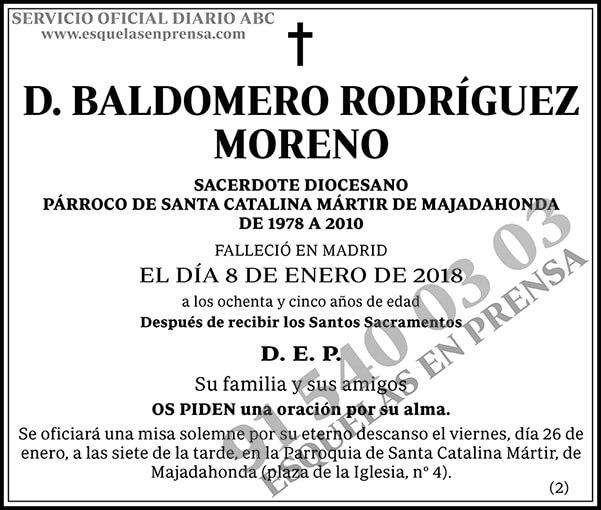 Baldomero Rodríguez Moreno